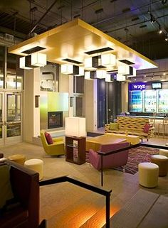 Aloft Minneapolis - Hotel Pet Policy Minneapolis Hotels, Pet Friendly Hotels, Commercial Interiors, Motel, Bed And Breakfast, Lodges, Hospitality, Pets, Furniture