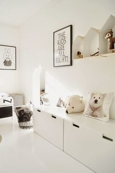 neutral, natural kids bedroom