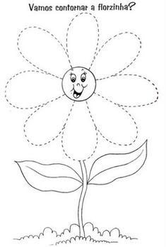 Crafts,Actvities and Worksheets for Preschool,Toddler and Kindergarten.Lots of worksheets and coloring pages. Preschool Writing, Preschool Learning Activities, Free Preschool, Preschool Printables, Spring Activities, Kindergarten Worksheets, Preschool Activities, Tracing Worksheets, Spring Flowers