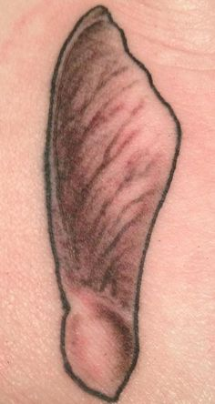 Maple seed foot tattoo ❤ so glad I got it done :)