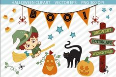 [DOWNLOAD] Cute Halloween Clipart | @Luvly.co