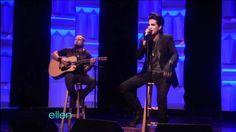 "The Ellen DeGeneres Show: Adam Lambert - ""Whataya Want from Me"" Acoustic (February 10th, 2011)"