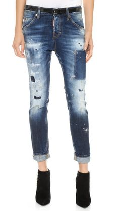 DSQUARED2 Cool Girl Jeans | How would you style these? http://keep.com/dsquared2-cool-girl-jeans-by-jacqueline_azria/k/1bGdYJABNm/