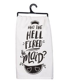 Look what I found on #zulily! 'Find the Maid' Dish Towel #zulilyfinds