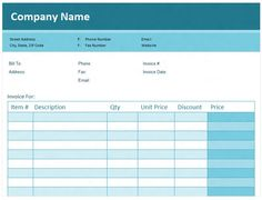 How To Create An Invoice On Excel Download File Httppeople.highline.edumgirvinexcelisfun.htm .