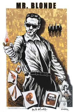 "Reservoir Dogs ""Mr. Blonde"" by EMEK"