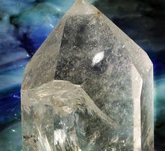 crystal with stained glass