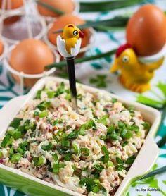 Smaczna Pyza: Do chleba - pasta z jajek i szynki Healthy Dishes, Healthy Eating, Healthy Recipes, Healthy Food, Lunch Recipes, Appetizer Recipes, Kitchen Recipes, Cooking Recipes, Good Food