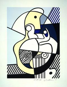 Homage to Max Ernst, 1975, Roy Lichtenstein