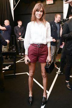 Alexa Chung Style | POPSUGAR Fashion