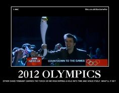 Either David Tennant carries the torch or we risk ripping a hole into time and space itself. What'll it be?