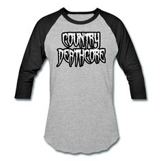 SICKIE THREADS | COUNTRY DEATHCORE - Baseball T-Shirt