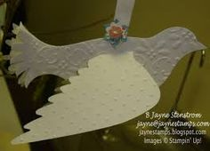 Image result for paper doily bird
