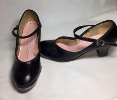 Vintage 1970's Capezio Tap or Clogging Shoes with Tele Tone Taps Size 4    eBay