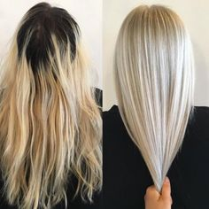 Terra Shapiro (@terrashapiro_atjuansalon) in Sherman Oaks, California, specializes in blondes and color correction. When we saw this correction on Instagram we had to know more.  Here Shapiro shares the how-to for this amazing makeover: