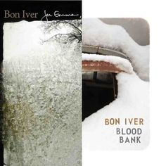 Delving into a little Bon Iver especially the tracks 'Blood Bank' and 'Flume'
