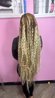 40 Bohemian Box Braids | Coils & Glory Box Braids Hairstyles, Protective Hairstyles, Protective Styles, Dreadlock Hairstyles, School Hairstyles, Hair Updo, Twist Hairstyles, Black Hairstyles, Hairstyle Ideas