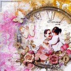 Timepiece! Just gorgeous! - Solange -  Scrapbook.com #bobunny