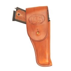 1911 Leather Holsters for Handguns | Holster - 1911 GI US Marked W/Flap