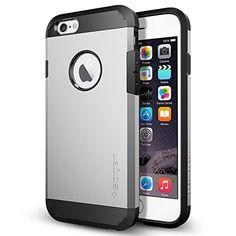 iPhone 6 Case, Spigen Tough Armor Case for iPhone 6 (4.7-Inch) - Retail Packaging - Satin Silver (SGP10971), http://www.amazon.com/dp/B00JH88NHI/ref=cm_sw_r_pi_awdm_qtXFub1C53X6M