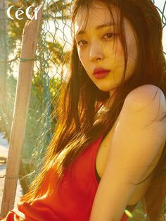 Sulli for Ceci magazine June Issue Sulli Choi, Choi Jin, K Pop, Krystal Jung, Rest In Peace, Aesthetic Photo, Korean Beauty, South Korean Girls, Kpop Girls