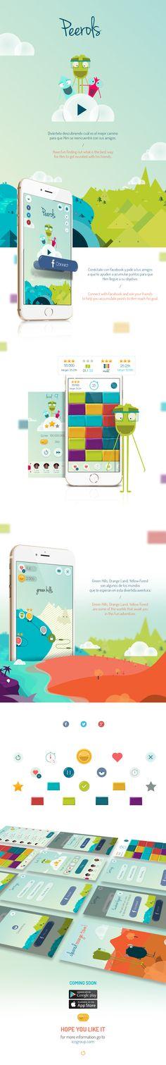 Juego móvil que tiene como objetivo encontrar caminos que permitan a Him, personaje principal, reunirse con sus amigos.