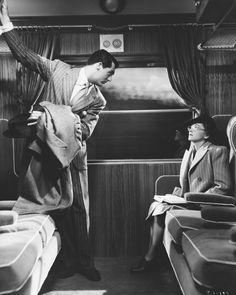 Cary Grant & Joan Fontaine in Alfred Hitchcock's Suspicion (1941)