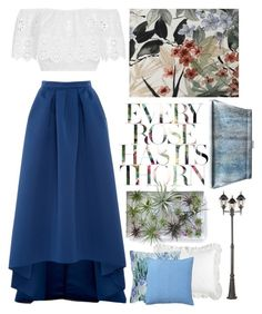 """""""Untitled #74"""" by yyvonne881038 ❤ liked on Polyvore featuring Jil Sander, Paule Ka, Miguelina, Maxim, Pier 1 Imports, Frette and Pottery Barn"""