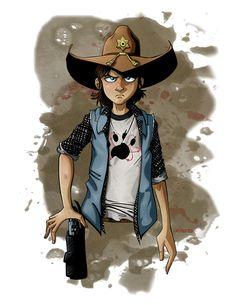 Carl Grimes - The Walking Dead - jmschichtel.deviantart.com