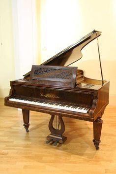 decorative grand piano - Pesquisa Google Piano Pictures, Grand Piano, Piano Music, Google, Beautiful, Decor, Decoration, Decorating, Deco