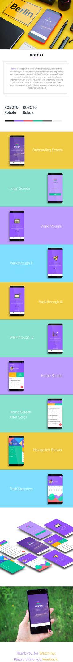Tasker - Android 6.0 Marshmallow on Behance