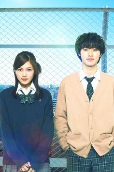 """[Making clip from TV, 1/2] https://twitter.com/kento_yamazaki_/status/704891449184280578        [Making clip from TV, 2/2] https://twitter.com/kento_yamazaki_/status/704891444792848386        Kento Yamazaki x Haruna Kawaguchi, J LA movie """"Isshukan Friends (one week friends)""""  Release: FEB/2017 2017 2017 T_T"""