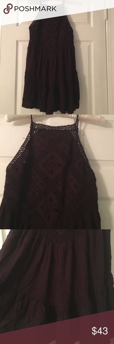 American eagle dress Plum colored. No flaws. Feel free to ask questions.                    forever 21, makeup, phone case, shirts, shoes, crop top, Lokai bracelet, necklace, bracelet, ring, Victoria's Secret, American eagle, jacket, pink, vineyard vines, simply southern, Levi's, , Vera Bradley, wallets, bags, trending, skirts, pillows, tapestry, cardigan, Michael Kors, fossil, coach, Prada, Chanel, Kylie American Eagle Outfitters Dresses Midi