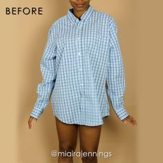 Here's how to transform a men's button up dress shirt into a cute DIY sleeveless dress that's perfect for warm weather! 🌞 diy sewing thrift fashion style outfit dress Song: Late x Ikson 447404544231869889 Umgestaltete Shirts, Men's Dress Shirts, Diy Clothes Refashion, Men's Shirt Refashion, Diy Clothes Videos, Diy Buttons, Mens Button Up, Button Up Dress, Clothing Hacks