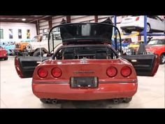 1988 Chevy Corvette Red - YouTube #GRAutoGallery