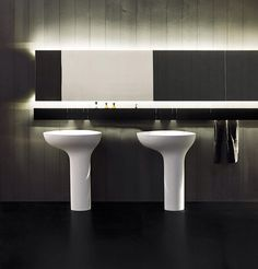 Drop Wash Basins, Design Benedini Associati For Agape