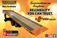 Summertime or Anytime - Rest Easy With Our Five-Year Warranty. Equipment Trailers, Tandem, Summertime, Trust, Canning, Easy, Home Canning, Tandem Bikes, Conservation