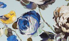 English Garden Wallpaper Porcelain (11220-147) – James Dunlop Textiles   Upholstery, Drapery & Wallpaper fabrics