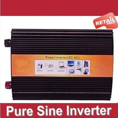 Digital Display Pure Sine Wave Power Inverter 2000W 2000 WATT DC 12v - AC 210v 220V 230v 240V free shipping #Affiliate