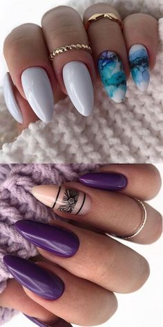 24 Outstanding Fall Nails Designs Ideas Th?nt T? Long Nail Designs, Colorful Nail Designs, Fall Nail Designs, Cute Acrylic Nails, Cute Nails, Fall Nails, Summer Nails, Nail Design Kit, Nail Ideas