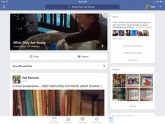 My new FB page, While They Are Young, ( https://www.facebook.com/groups/1486655631635214 ) where I am selling great books, homeschool curriculum, fantastic toys and all things for kids!