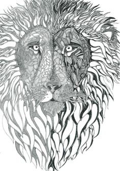 Lion by Adisida on DeviantArt Day Work, My Drawings, Lions, Lion Sculpture, Deviantart, Statue, Pictures, Animals, Photos