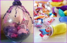 LOVE this! Use the top off of a soft drink/water bottle to funnel goodies into a balloon. I always wondered how they got the things inside!! Great party favors, pinatas you name it!   Thanks for the share Schooled Up Hair Accessories and Fantasy Kids Parties