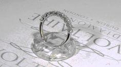 nine stone eternity ring