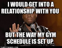 Lmao!!! ....try being a competitive powerlifter too...smh, they all know me in my gyms - yes plural, two.
