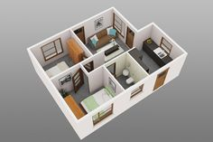 Amazing and Unique Tricks Can Change Your Life: Warm Minimalist Home Pillows asian minimalist interior house.Minimalist Home Office Tiny House minimalist bedroom lighting texture. 3d House Plans, Simple House Plans, House Layout Plans, Simple House Design, House Layouts, Manufactured Homes Floor Plans, Interior Design Blogs, Interior Decorating, Interior Ideas