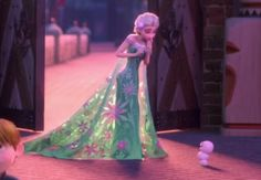 Frozen Fever Elsa's cape