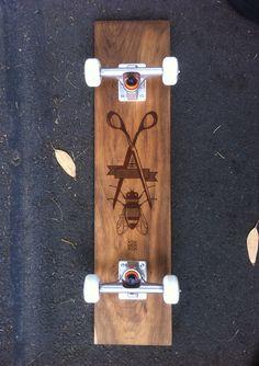 Says Who Skateboard