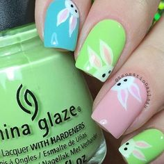66 Best Easter Nails! View them all right here ->   http://www.nailmypolish.com/easter-nails/   @nailmypolish