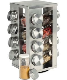 Martha Stewart Collection 17 Pc. Revolving Spice Rack, Created For Macyu0027s | Revolving  Spice Rack, PC And Products